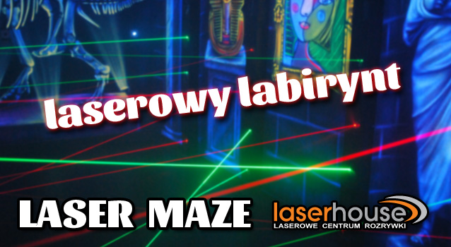 Laser Maze, Laserowy labirynt